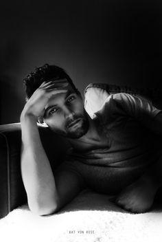 B n' W by Kat von Rose , 2014  ----------------------------------------- #blackandwhite #photography #art #katvonrose #portrait #monochrome #Editorial