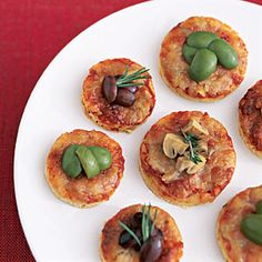 Tiny Pizza Pies | MyRecipes.com