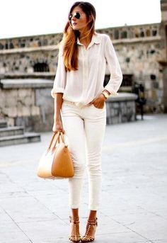 Cool Chic Style Fashion: LIFESTYLE | White Denim