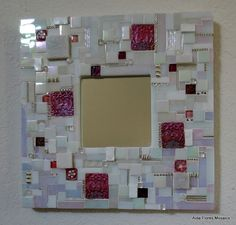 Mosaic Mirror by HummingbirdMosaics on Etsy,