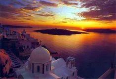 Top 10 dream trips - 3.Admire the sunset over Santorini Santorini, Greece