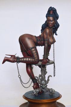Sophie by KonstantinPinaev · Putty&Paint Medusa Art, 3d Art Drawing, African Sculptures, Goth Art, Art Station, Art Model, Aesthetic Grunge, Erotic Art, Fantasy Art