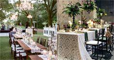 Inspiración para decorar la mesas bodas