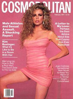 Cosmopolitan US, February 1991Model: Kim Basinger