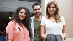 Blanca Soto, Linconl Palomeque, Litzy together Señora Acero 2