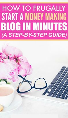 This step by step guide on how to frugally start a money making blog in minutes is THE BEST! I'm so happy I found these AMAZING tips! Now I can work from home! Definitely pinning for later!