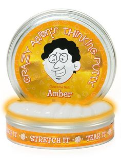 Crazy Aaron's Thinking Putty // Glow in the Dark // Amber