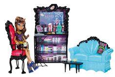 Mattel Monster High X3721 - Clawdeens Kaputtschino-Ecke, inklusive Puppe und Zubehör: Amazon.de: Spielzeug