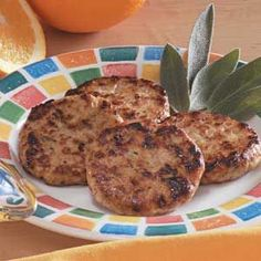 Chicken Sausage Patties Recipe - This was a staple when we did the Whole30. very yummy.