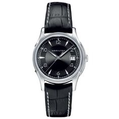 Hamilton Men's HML-H32411735 Jazzmaster Black Dial Watch ** More info could be found at the image url.