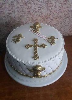 Resultado de imagem para tortas de comunion modernas