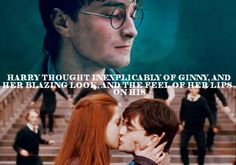 I know some people dont like Harry and Ginny together but I adore them :)