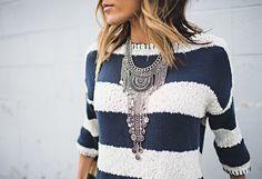 Maya chain necklace
