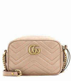 Borsa a tracolla GG Marmont Mini in pelle matelassé | Gucci