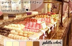 Color palette of 1 Marzo 2015 - Macarons http://graficscribbles.blogspot.it/2015/03/palette-colori-rgb-macarons.html