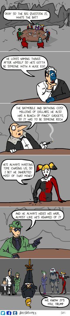 Batman's True Identity [Comic]