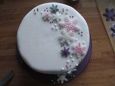 Good Food, Shared: Mich Turner's Snowflake Christmas Cake
