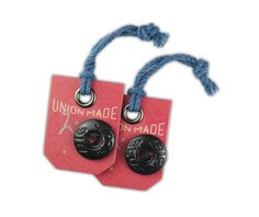 Union Made DENIMSTOCK #hangtag design by http://www.apxpress.com/