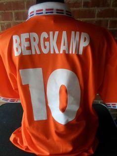1996 Bergkamp  10 Holland Home Football Shirt xxl (31372) Football Shirts 355d9e0e9