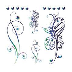 Arabesque Tattoos | TattooForAWeek.com - Tatouages Temporaires . - tatouage temporaire - Fleurs - RA/F21-17