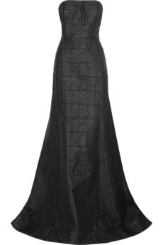Jason Wu Strapless brocade gown   THE OUTNET