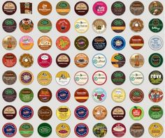 k-cup mix and match single servings when you order. Nice