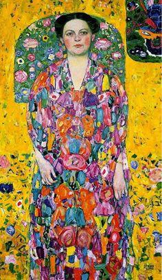 Portrait of Eugenia Primavesi, Gustav Klimt. 1913.