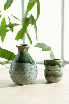 Ceramic Sake Set - Urban Outfitters