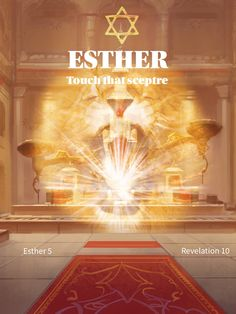 Esther, touch that sceptre Revelation 10, Touch, Movies, Movie Posters, Films, Film Poster, Cinema, Movie, Film