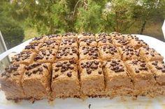 Prăjitură cu nucă și ness Facebook Recipe, Easy Desserts, Banana Bread, Blueberry, Food And Drink, Sweets, Bacon, Recipes, Workshop