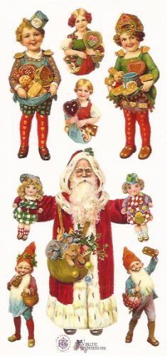 Vintage Christmas Father Christmas