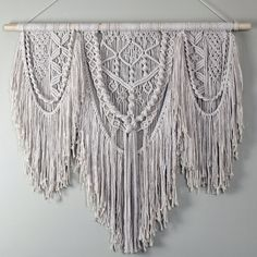 Hey, I found this really awesome Etsy listing at https://www.etsy.com/listing/514186099/beautiful-large-macrame-wall-hanging-3mm
