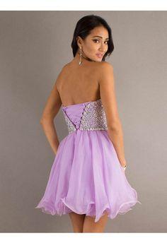 Cute A-line Sweetheart Sleeveless Homecoming Dresses,Short/Mini Cheap Homecoming Dresses,Short Prom Dresses - Thumbnail 1