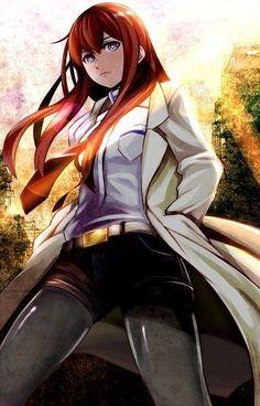 Gate Makise Kurisu Home Decor Anime Japanese Poster Wall Scroll Hot 096 Manga Anime, Film Anime, Neko, Steins Gate 0, Kurisu Makise, Sailor Moon, Best Waifu, Tsundere, Cute Anime Character