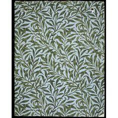 Wallpaper - Willow Bough, London, England (printed), 1887, William Morris, born 1834 - died 1896 (designer) Morris & Co. (publisher)