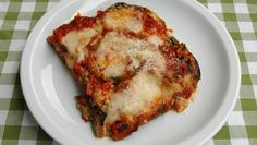 Slow Cooker Easy Eggplant Parmesan - FAVORITE..as good as any you can get in an Italian Restaurant! www.GetCrocked.com