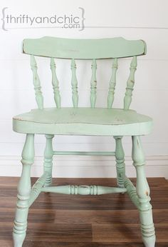 how to distress furniture without the mess of stain, painted furniture, Finished product You can use it right away and not worry about stain getting on you