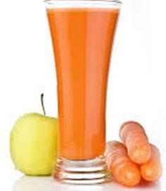 ¡Depura tu organismo y moldea tu cuerpo con este rico batido de zanahoria y manzana! #Fitnes