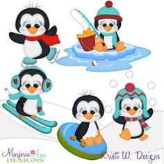 snowball fight penguins svg cutting files includes clipart snow fun rh pinterest com  snowball fight clipart black and white