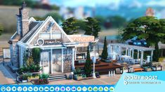 Sims 4 Restaurant, Sims Cc, Table Decorations, Mansions, The Originals, House Styles, Home Decor, Sims 4 Houses, House
