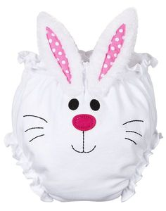 Bunny Bloomers: Easter Bunny Diaper Cover for Baby Girls. Size 0-6 Months. $14.99 #baby #easter