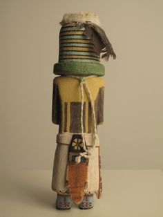 Hopi kachina doll (back)