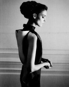 Kati Nescher by Karl Lagerfeld for Harper's Bazaar US March 2013