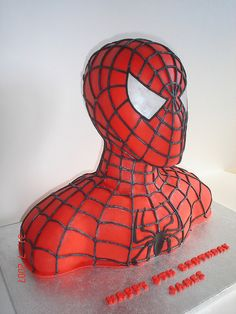 this is so cool, maybe I want a spiderman cake for my birthday too