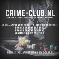 CrimeClub prijzen ronde 1!