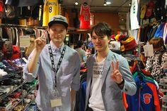 【大阪店】2014.09.19 大分からお越しいただきました^^大阪にいるお友達を訪ねて来られていてバスケも大学の部活でやられているそうです^^ジャージとバスパンを九州で見せつけてきてくださいね!また遊びに来てくださいね!