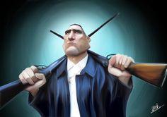 Sean McLeod : Caricatures
