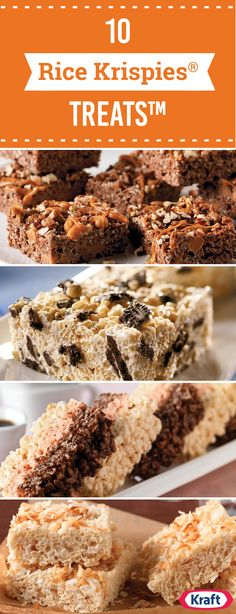 Rice Krispies® Treats™ – You don't need to be a kid for RICE KRISPIES® TREATS™ to be on your list of dessert faves. Like other no-bake dessert recipes, these homemade treats take just minutes to prepare for casual celebrations all summer long.