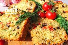 Bol Çeşnili Muhteşem Tuzlu Kek (Lezzetine Bayılacaksınız)