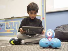 Third-grader Vikram Verma codes the movements and functions